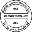 Officially approved Porsche Club 352